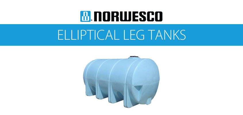 Norwesco Elliptical Leg Tanks