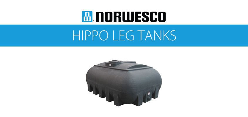 Norwesco Hippo Leg Tanks