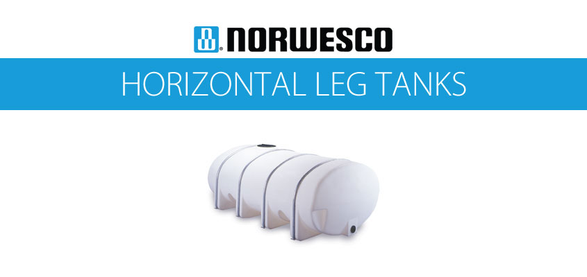 Norwesco Horizontal Leg Tanks