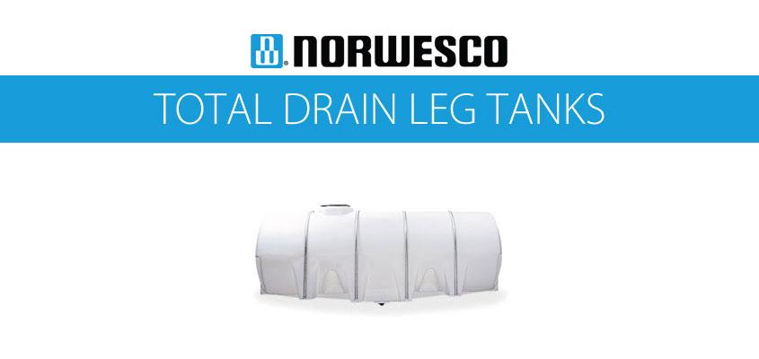 Norwesco Total Drain Leg Tanks