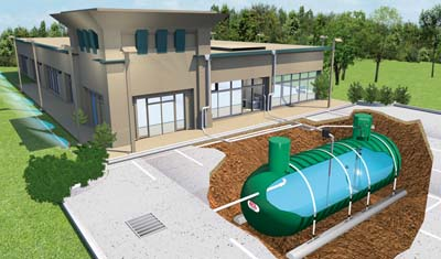 ZCL underground tanks for green applications