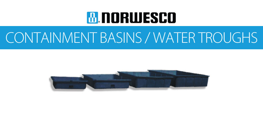 Norwesco Containment Trays & Water Troughs