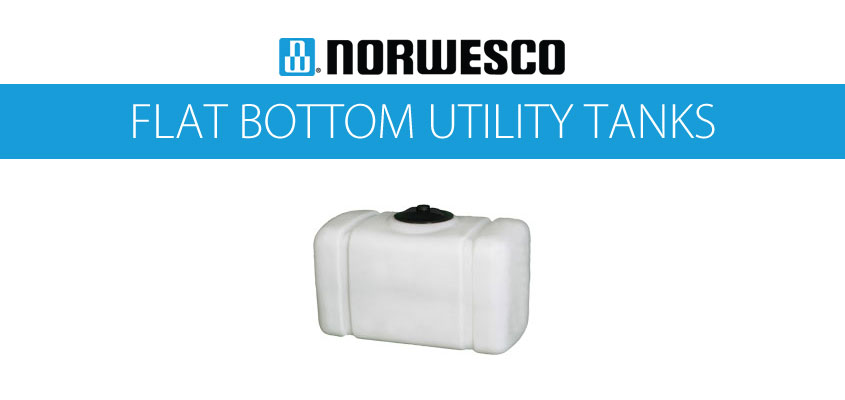 Norwesco Flat Bottom Utility Tanks