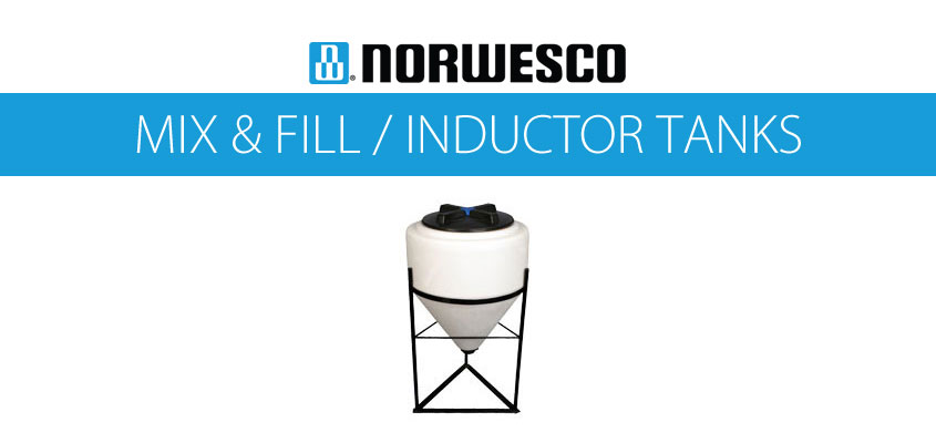 Norwesco Mix & Fill Inductor Tanks