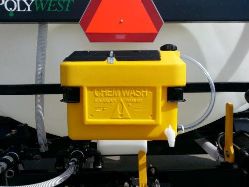 Bandit Liquid Fertilizer Wagon Chem Wash
