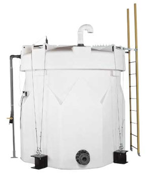 Captor Double Wall Polyethylene Tanks